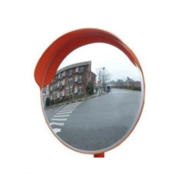 Зеркало дорожное с козырьком, диаметр 600 мм Vorunet.ru